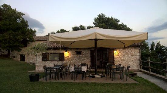 Sassoferrato, Italia: ristorante
