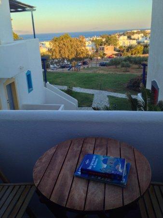 Albatross Hotel: vue depuis le balcon le soir