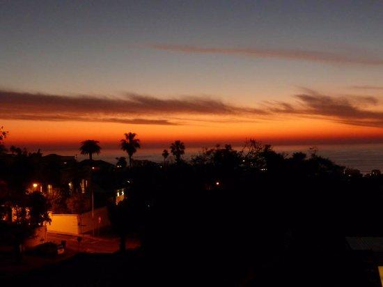 Fresnaye, Sydafrika: mooie zonsondergangen vanaf balkon