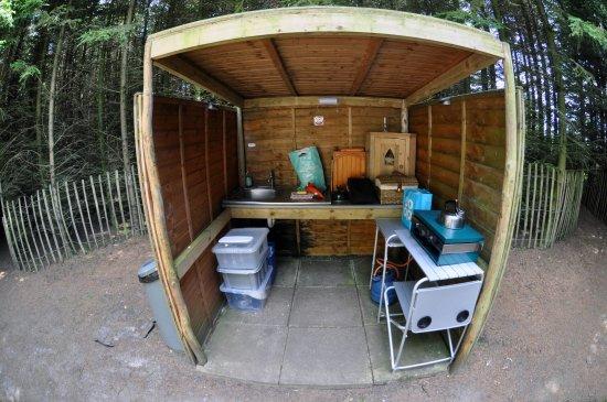 Market Rasen, UK: The Ark has it's own Kitchen area