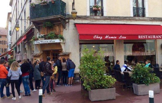 Avis Restaurant Chez Mamie Lise Annecy