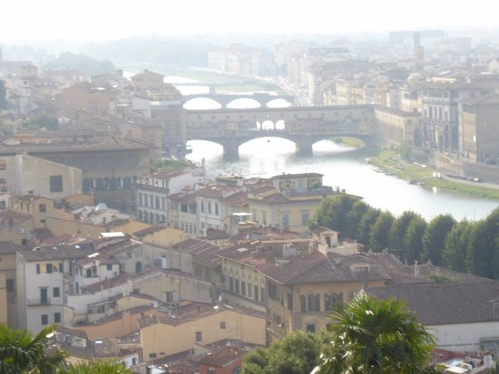 Tuscany Car Tours: views from Piazza Michelangelo