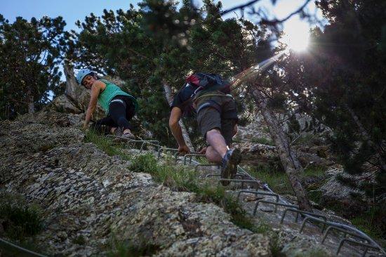 Encamp, Andorre : Vía Ferrata Clots de l'Aspra / Via Ferrata: Clots de l'Aspra