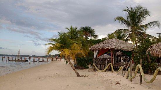 Barcarena: Vista da praia