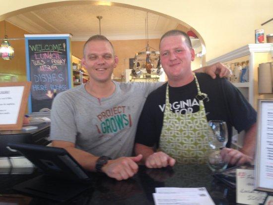 Staunton, VA: Mike and James, proprietors