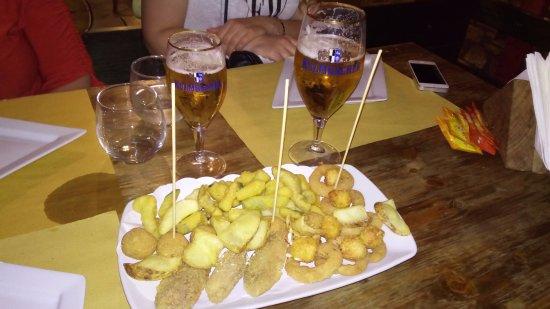 Attigliano, Italia: piatto tipico