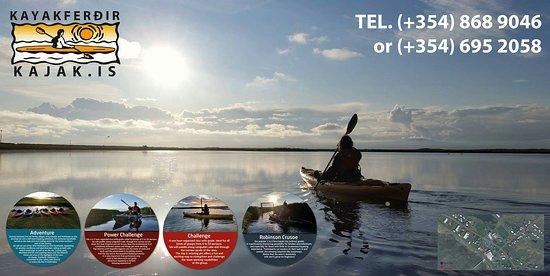 Stokkseyri, Island: Kayakferdir