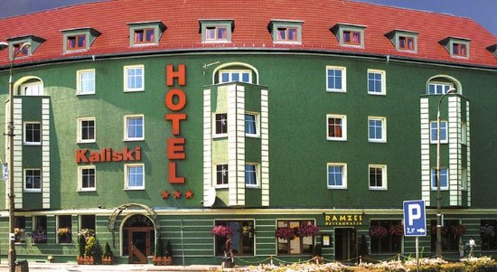 Slubice, Polen: Fasada budynku