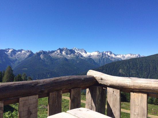 Peio, อิตาลี: Terrazza Panoramica della Malga