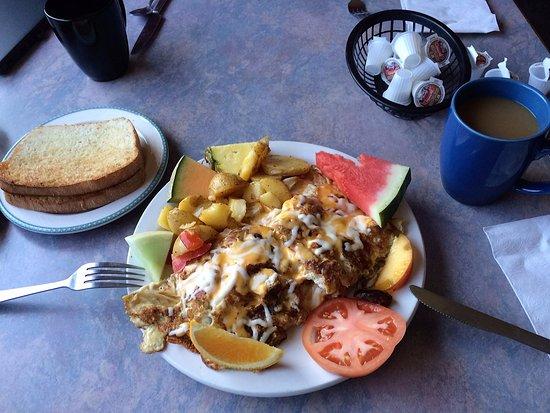 Schreiber, Kanada: The 3-egg omelette