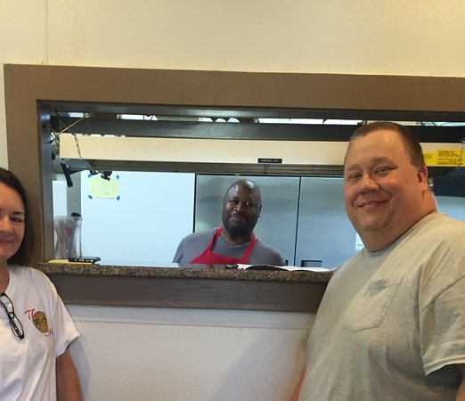 Fort Valley, GA: Owners and chef, The Railroad Cafe