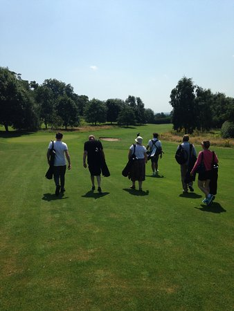 FootGolf at Hoebridge Golf Centre