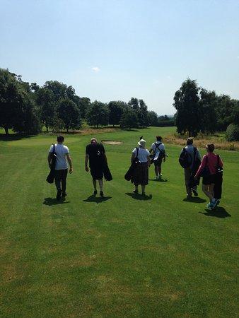 FootGolf at Hoebridge Golf Centre