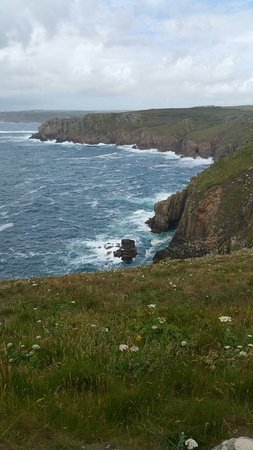 Land's End, UK: The Relentless Sea