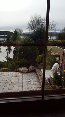 Lisnaskea, UK: Got seated in one of the best seats with amazing views of Lough Erne