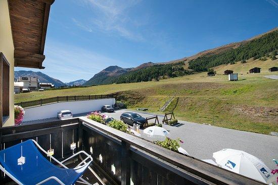 Hotel Astra: Vista montagna dalla camera