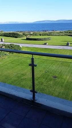 Furbo, Irlandia: Balcony view from Inis Toric suite