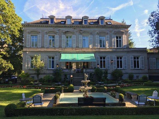Hotel Belle Epoque: Garten und Sommerterrasse