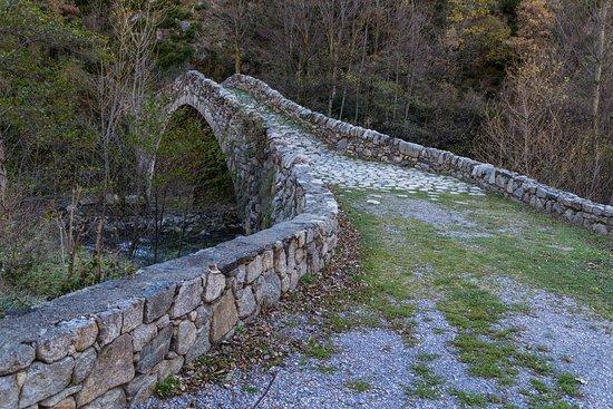 Andorre-la-Vieille, Andorre : Puente de La Margineda / Pont de La Margineda