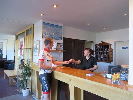 La Vallee Blanche : Meet Bev at Reception