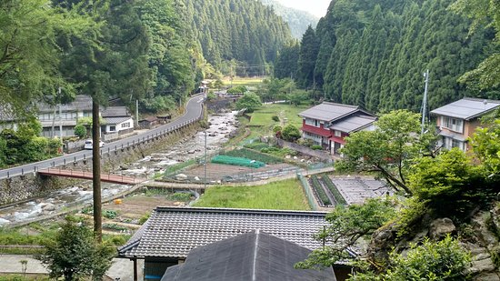 Wakasa-cho, Japonia: View from the Temple looking down (during tour)