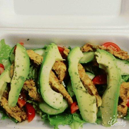 Strand, South Africa: Salad
