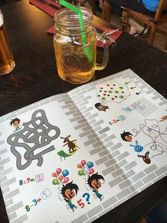 Pori, Finlândia: Kids menu only 6,80€ beverages inc.
