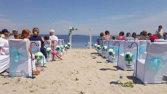 Wedding aisle....a beautiful setting....a beautiful beach.. Taylor Head Beach, Spry Bay, Nova Sc