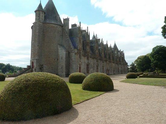 Au Relais de l'Oust : chateau de josselin