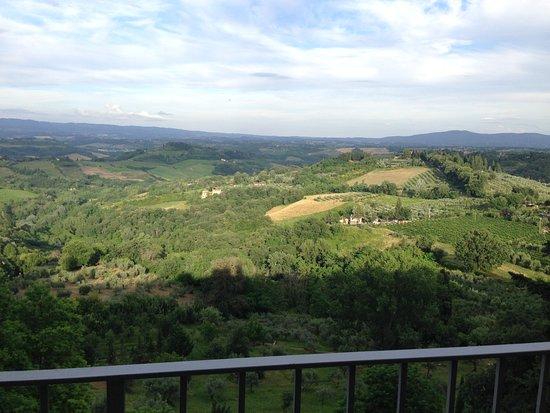 quello che si vedeva dalla camera 11 - picture of hotel bel ... - Hotel Bel Soggiorno San Gimignano Si