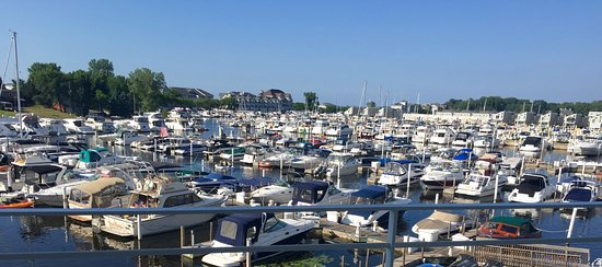 View from Marina Grand, New Buffalo, Michigan