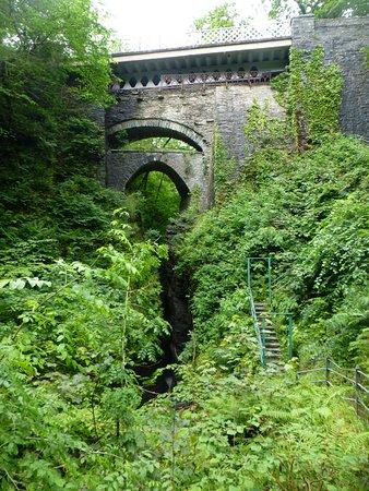 Devil's Bridge (Pontarfynach), UK: The 3 Bridges