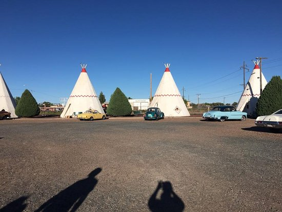 Wigwam Motel: cute little wigwams