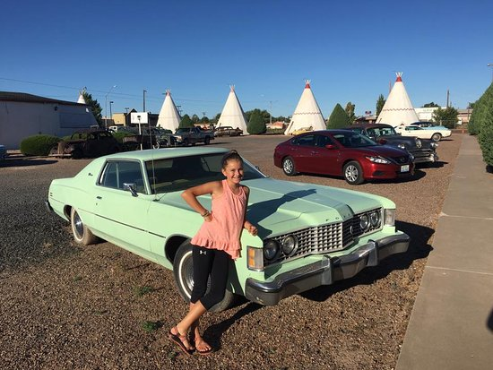 Wigwam Motel: Just too cool
