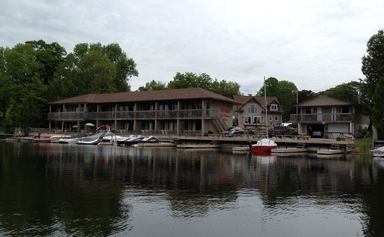 Image captured of the Kit Wat Motel Restaurant & Marina while enjoying a complimentary canoe ren