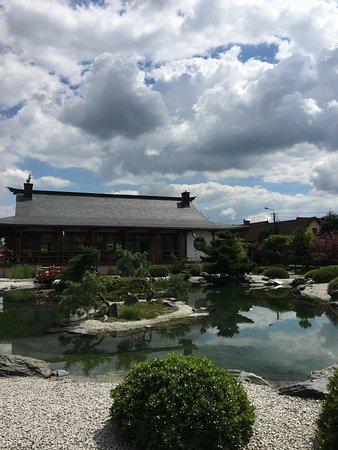 Pisarzowice, Polonia: Volgens de foto's lijkt het park groter dan het is