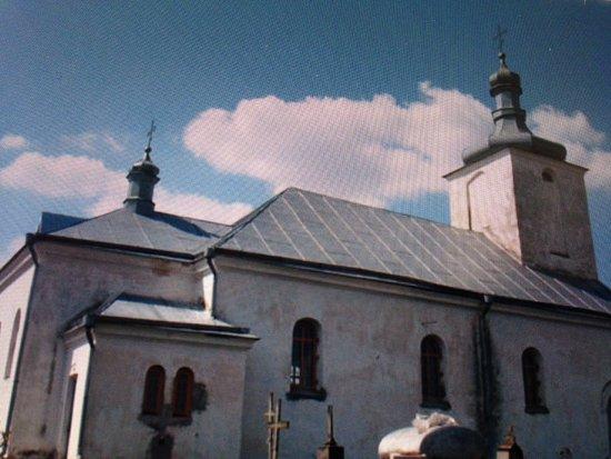 Novy Svierzan, Belarus: Вид церкви