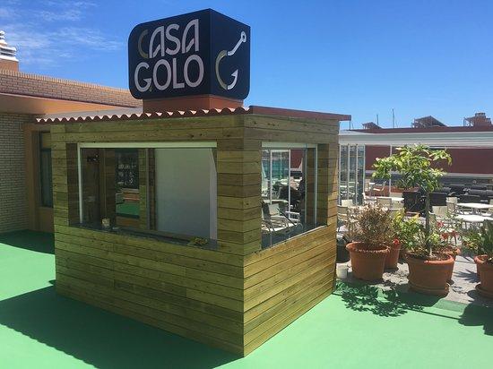 La Barra De Copas Para La Terraza Chillout Casa Golo
