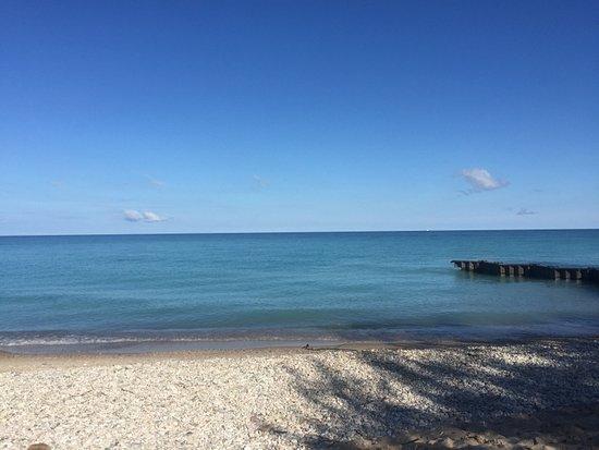 Frankfort, MI : Point Betsie Lighthouse Beach