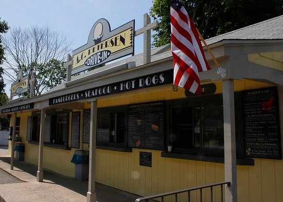 Old Lyme, CT: A.C. Petersen Drive-In At Hallmark.