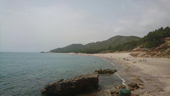 L'Hospitalet de l'Infant, Espagne : Excellente plage 👍👍