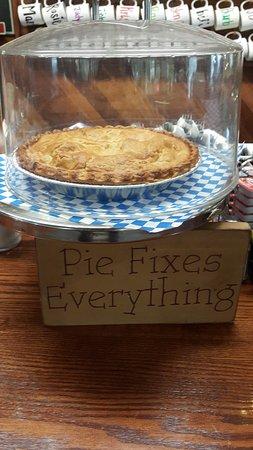 Enumclaw, Waszyngton: pie fixes everything