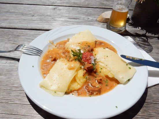 malga di Tesido - Taistner Alm: Was weer een top dag en het eten super.