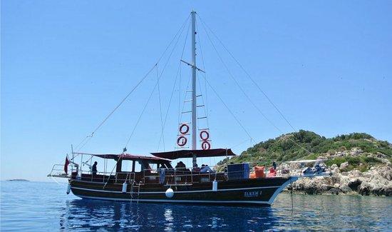 Kas Boat Trip- Tekne Ilkem I