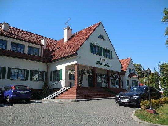 Hotel Amax : Eingangsbereich