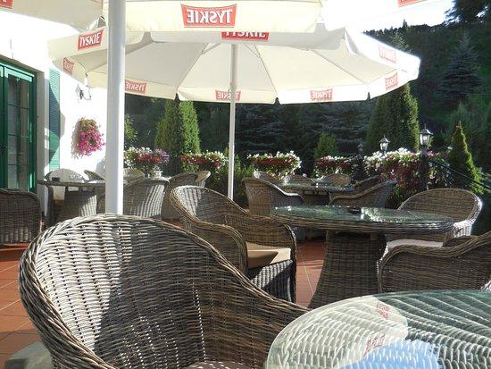 Hotel Amax : Terrasse