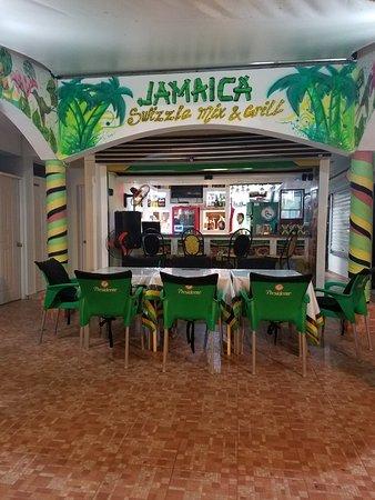 Jamaica Swizzle Mix & Grill International