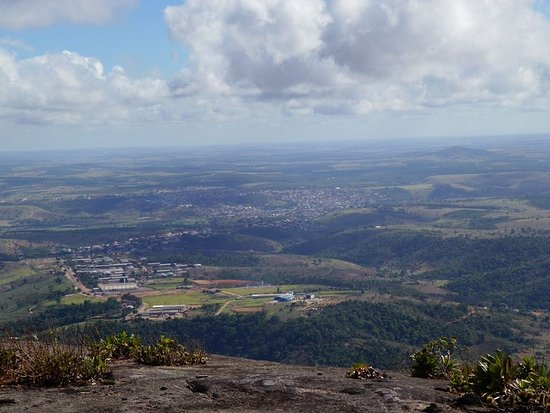Nova Venécia, ES: Vista do alto da Pedra da cidade