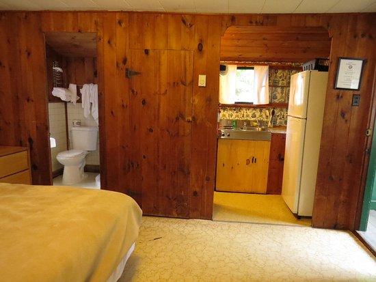 Tilton, NH: Looking towards bathroom & kitchenette