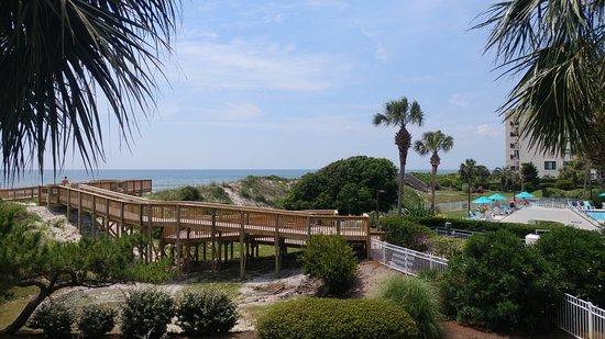 Litchfield Beach Golf Resort 2nd Floor View
